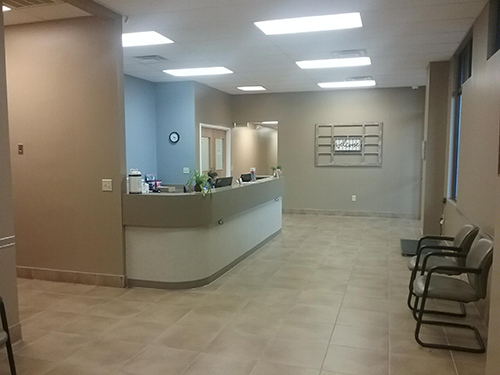 Covenant Animal Clinic Front Office